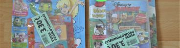 Lot de 2 magazines neufs: Tiji et Disney Junior + DVD