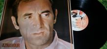 DISQUE 33 TOURS CHARLES AZNAVOUR