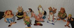 LOT ANCIENNES FIGURINES ASTERIX