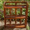 étagère  en bambou  ,  vintage