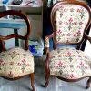 Chaise et fauteuil Louis XVI