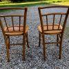 Paire de chaises Luterma, bistrot, vintage