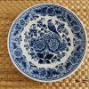 Assiette bleue céramique Delft