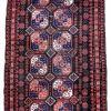 Tapis ancien Afghan Baluch fait main, 1P35
