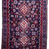 Tapis vintage Persan Shiraz fait main, 1P51