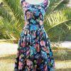 Superbe robe Vintage comme neuve ,coupe canon !!!