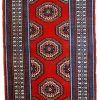 Tapis vintage Indien Mahal fait main, 1C732