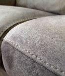 Canapé en daim