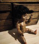 poupée gégé noire année 60/70