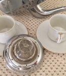 Cafetière verre et bakelite