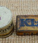 Boite métal ancienne industrielle KLG
