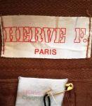 Léonie - Jupe vintage crayon marron