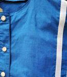 Yvette - Blouse vintage à boutons pression