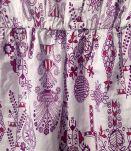 Top bohème en coton taille 36