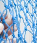 sac filet crochet bleu