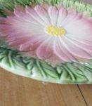 assiette vintage à fleur