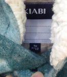 Manteau chaud en laine mixte 9 mois
