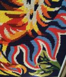 Canevas fait main , tapisserie Jean Lurcat.