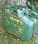 Ancien Jerrican / Bidon BP Thermixine - 10L