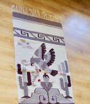 Tapis laine ethnique Mexique