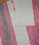 Tapis de couloir coton tissé multicouleur