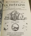 4 tomes Fables de La Fontaine Ed° Jean Bonnot
