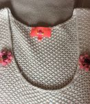 Robe courte en tricot