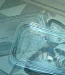 Beurrier verre arcoroc vache rectangle