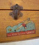 Baby-Foot de table et portatif de marque SAMUD, années 1950