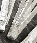 Mètres bois et métal
