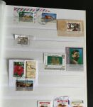 Album présentoir  de timbres