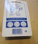 Porte clé collector distributeur chewing gum Mondial 98