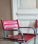 Lot fauteuils salon de coiffure vintage