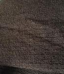 Coupon vintage années 70 pure laine bouclée épaisse