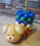 jouet d'eveil bebe vintage   hauteur 27 cm