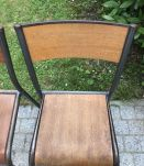 2 Chaises d'école Mullca 510 de 1960