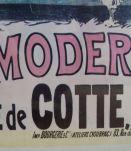 Affiche ancienne publicitaire : L'hygiène moderne