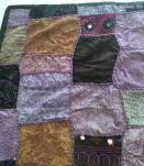 Tenture indienne artisanale en patchwork