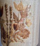Grande lampe herbier vintage