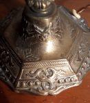 lampe bronze art deco