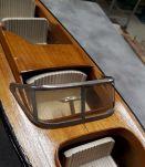 bateau style riva 1950  bois  deco de bureau