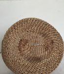 Panier boule tressé, décoration bohème