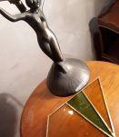 lampe statue regule model us electricite refai