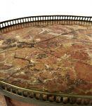 Table bouillotte de style Louis XVI