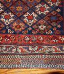 Tapis ancien Oriental fait main, 1B316