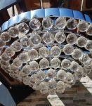 plafonnier lustre en cristal design