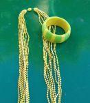 Ensemble collier bracelet vintage