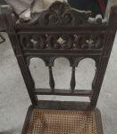 Chaises anciennes à restaurer (lot de 3)