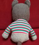Ancienne peluche vintage Raton laveur Ajena made in France
