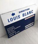 """Plaque de métro """"Louis Blanc"""""""